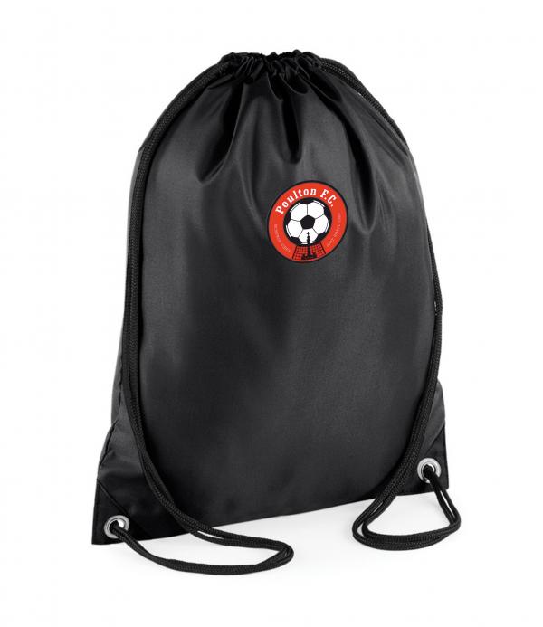Poulton FC drawstring bag