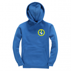 Spirit Of Youth Childrens Hoodie Royal