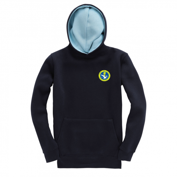 Spirit Of Youth Youth Hoodie Navy Royal