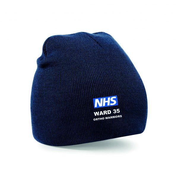 NHS Ward 35 Ortho Warriors Beanie