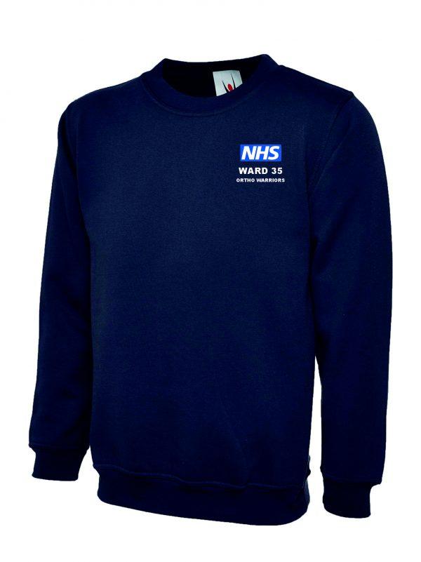 NHS Ward 35 Ortho Warriors Sweatshirt