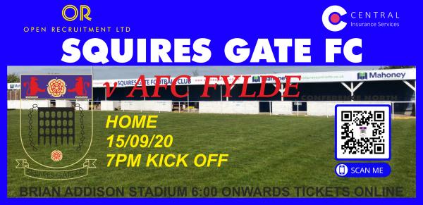 Squires Gate AFC Fylde Tickets