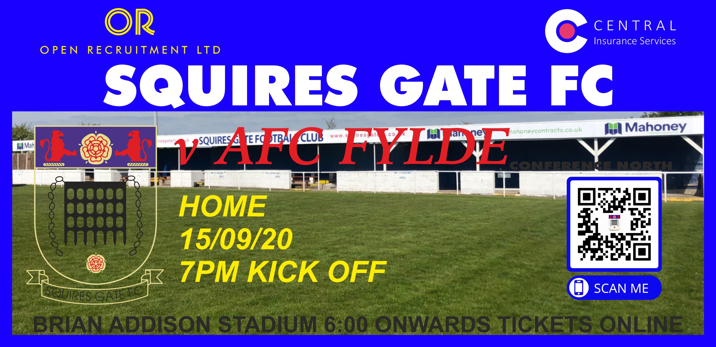 AFC Fylde Match Day Tickets