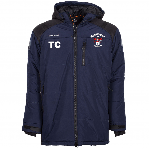 Thornton Cleveleys Managers Jacket cw Initials