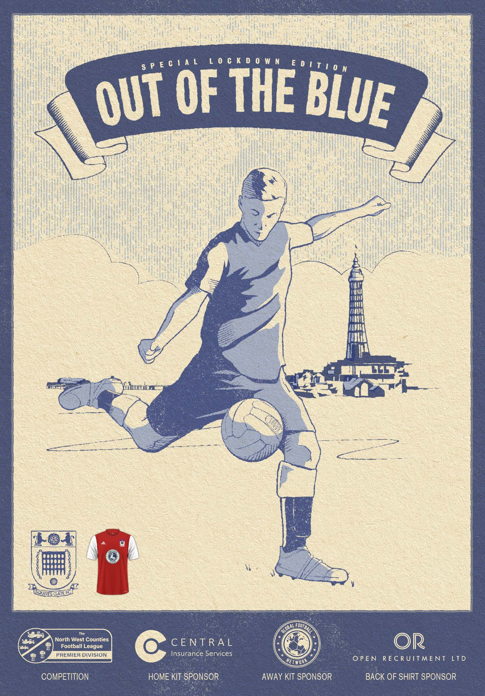Squires Gate – Out Of The Blue – Away Lockdown Edition – Download Version (Copy)