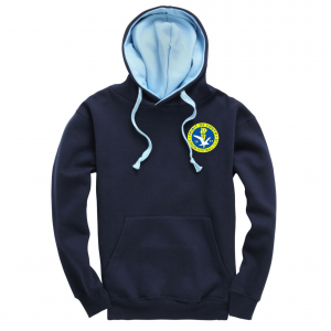 Spirit Of Youth Adult Hoodie Navy / Powder Blue