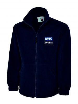 NHS Ward 35 Fleece Jacket