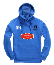 FC Rangers adult hoodie with initials, logo