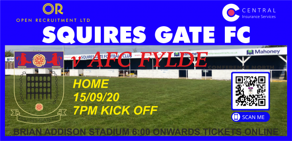 Squires Gate AFC Fylde Tickets