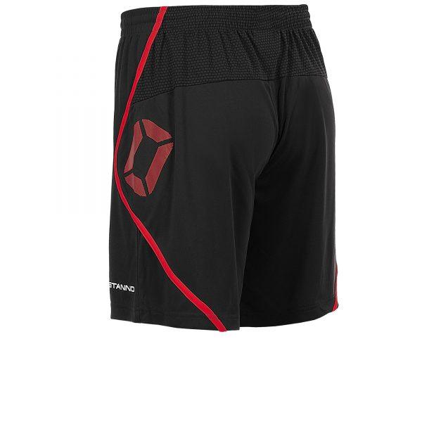 Stanno Pisa Shorts Black/Red