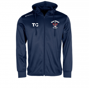 Thornton Cleveleys FC Field Hooded Top Full Zip (Navy)